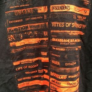 Other - Cassette Tape Collection Print Punk Metal T-Shirt
